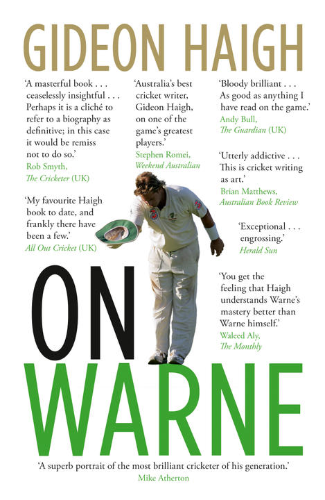 Cover image for On Warne
