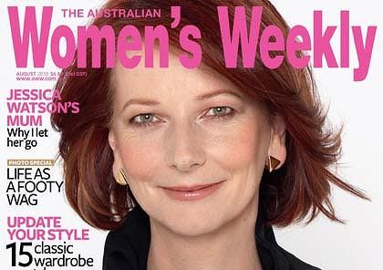 Julia Gillard Women's Weekly Cover