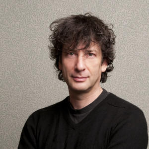 Portrait of Neil Gaiman