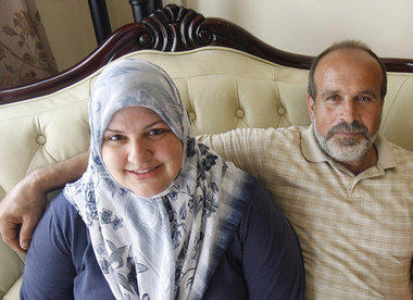 Abdulrahman Zeitoun and ex-wife Kathy in happier times.