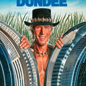 Promo image for Mick's Schtick: on the construction of Crocodile Dundee