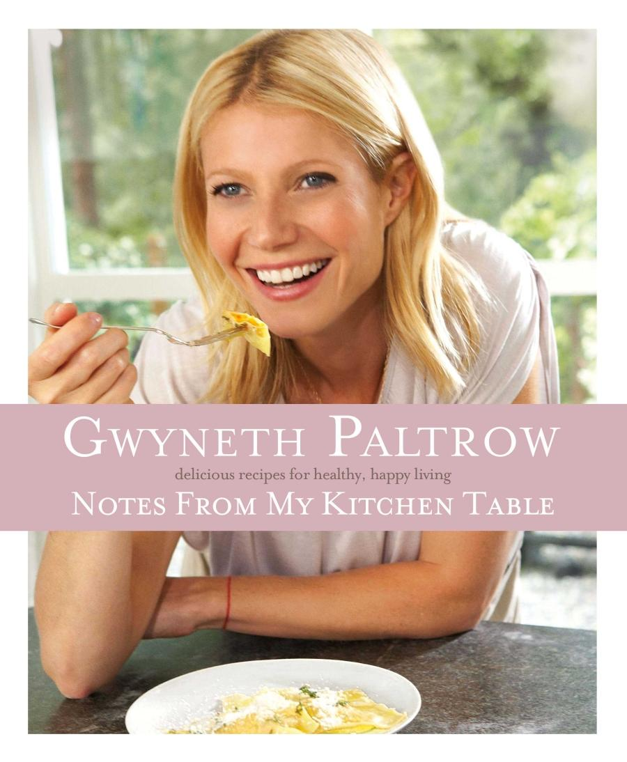 Gwyneth Paltrow denies she had a ghostwriter for her cookbook, despite a *New York Times* article claiming she did.