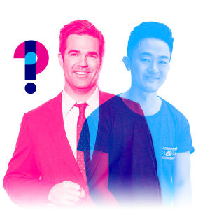 Promo image for Rob Delaney and Benjamin Law: Are cockroaches attracted to human tears, and if so, why?