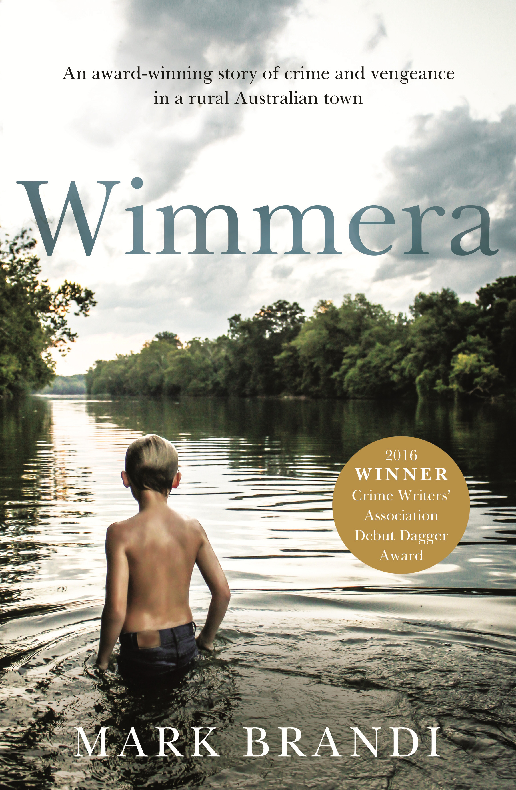 Cover image of the book 'Wimmera' by Mark Brandi