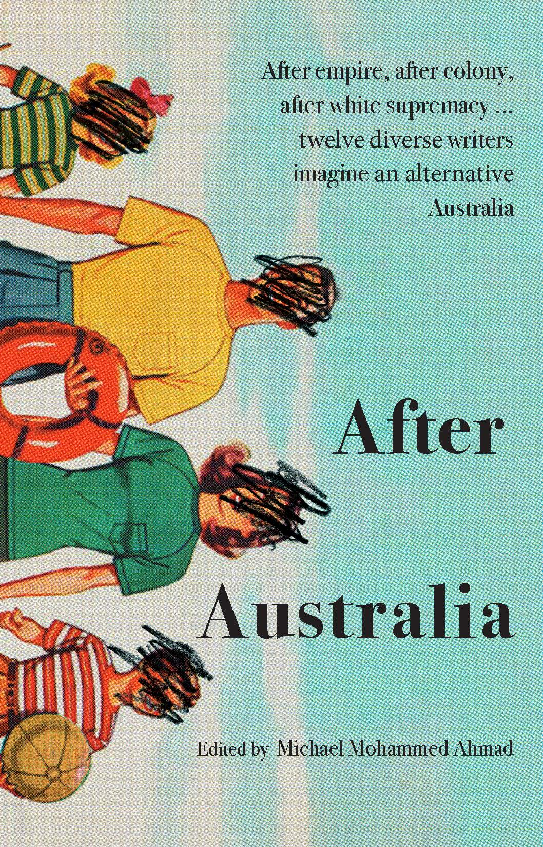 Cover image of the anthology 'After Australia', featuring a story by Roanna Gonsalves