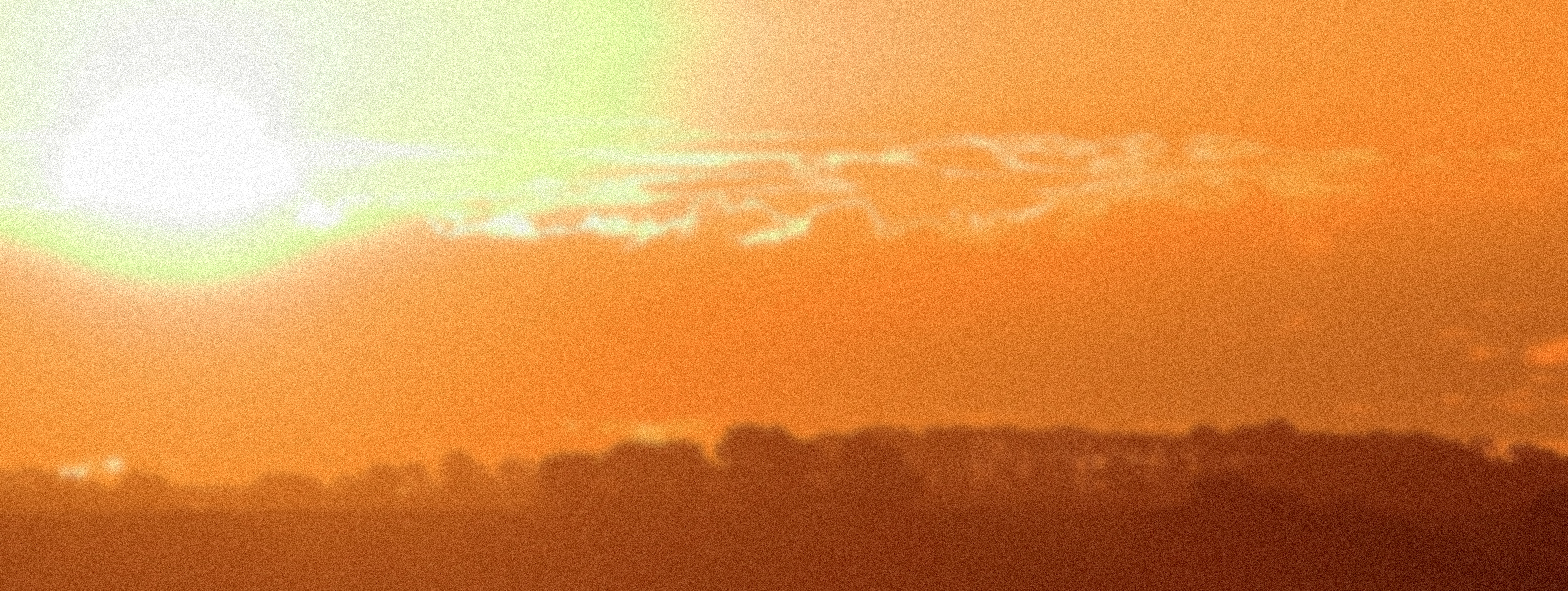 Photograph of a sunset