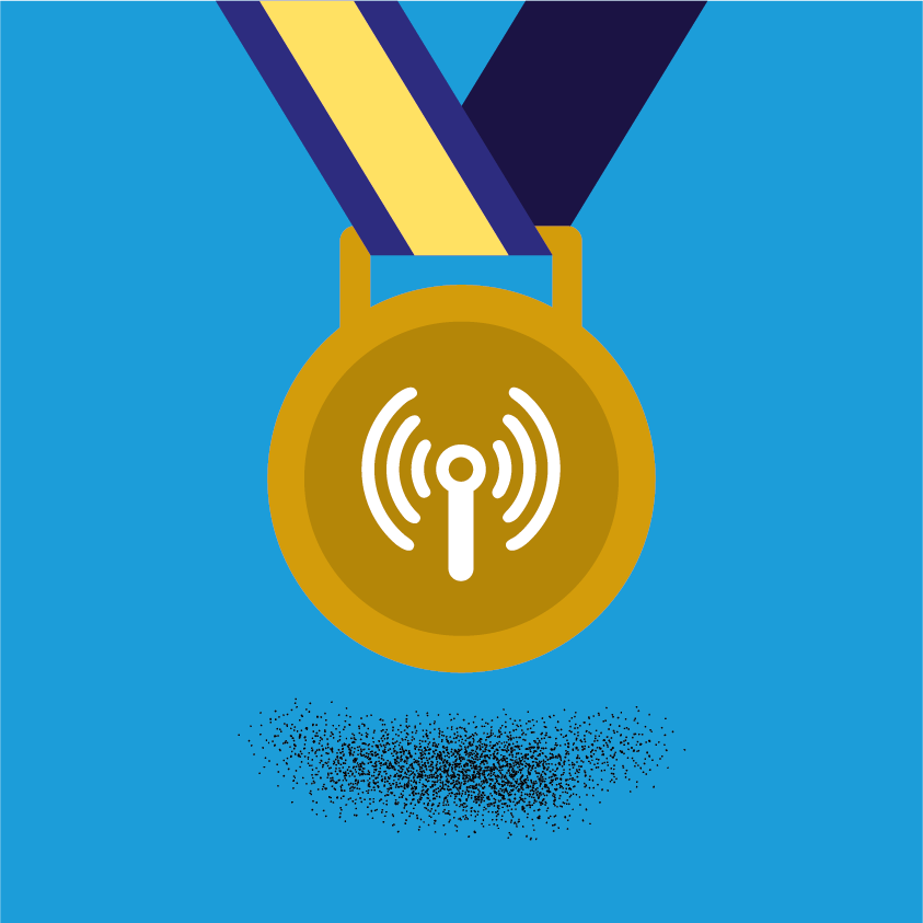 Illustration of a medal