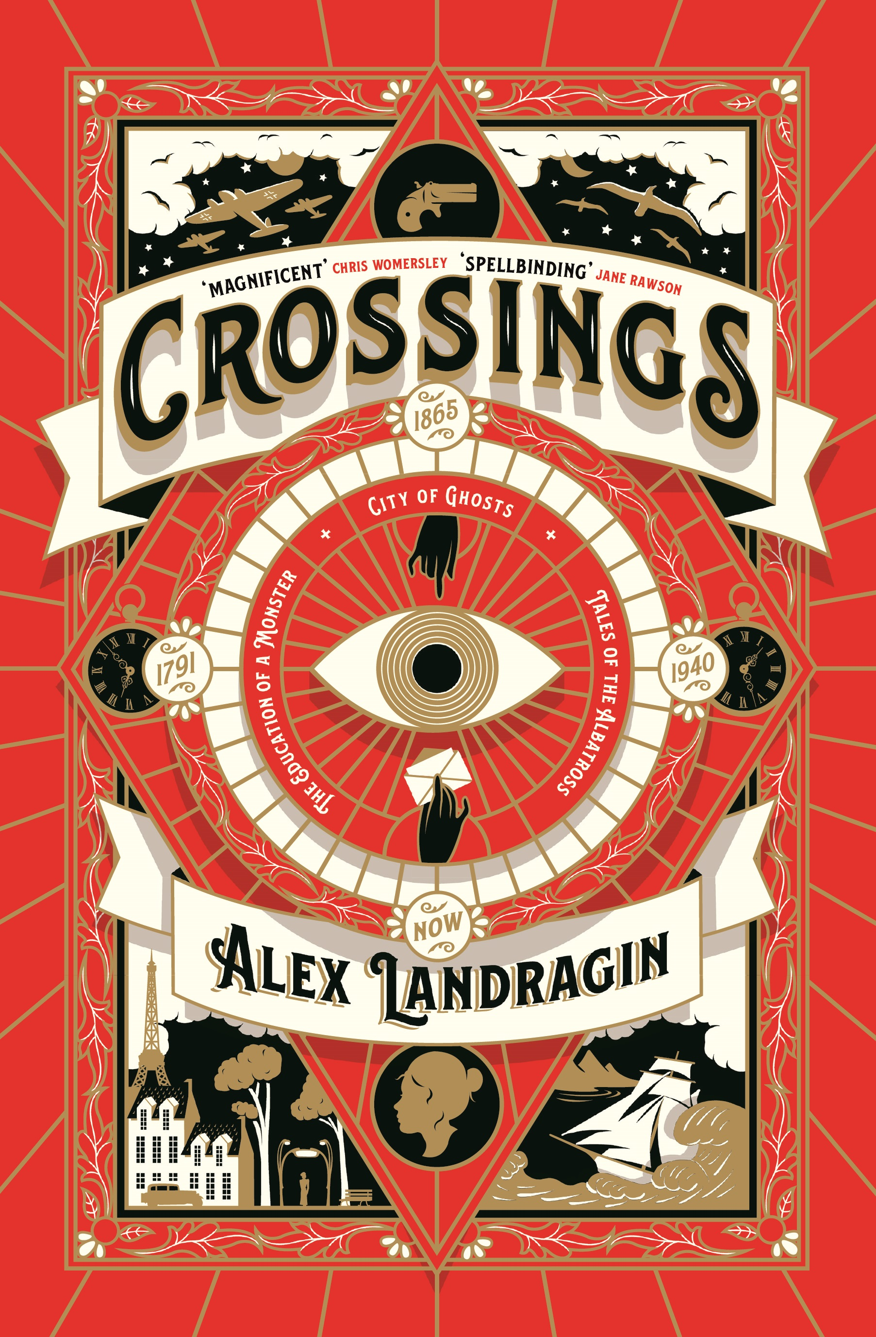 Cover image of 'Crossings' by Alex Landragin