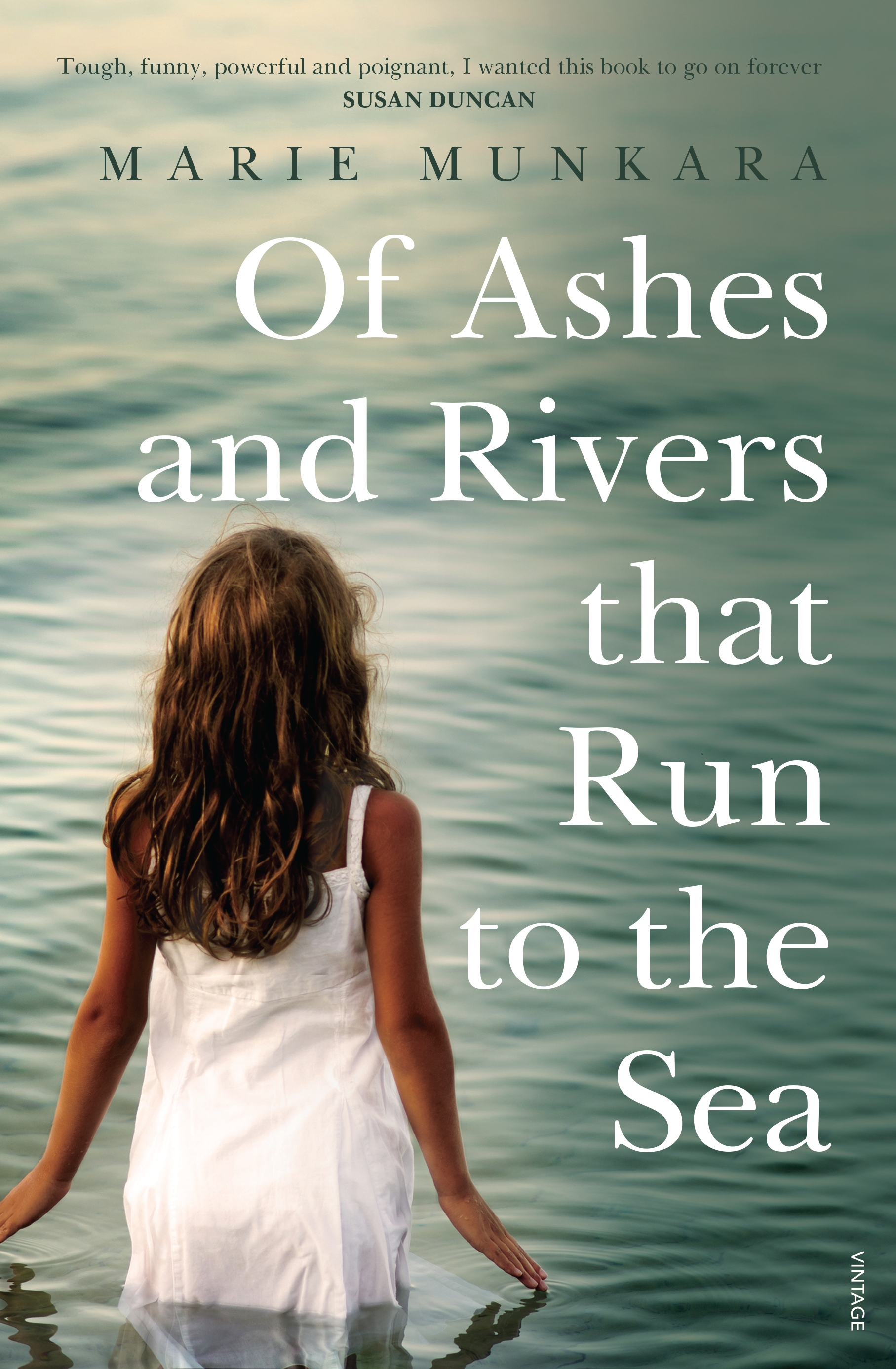 Cover image of 'Of Ashes and Rivers that Run to the Sea' by Marie Munkara