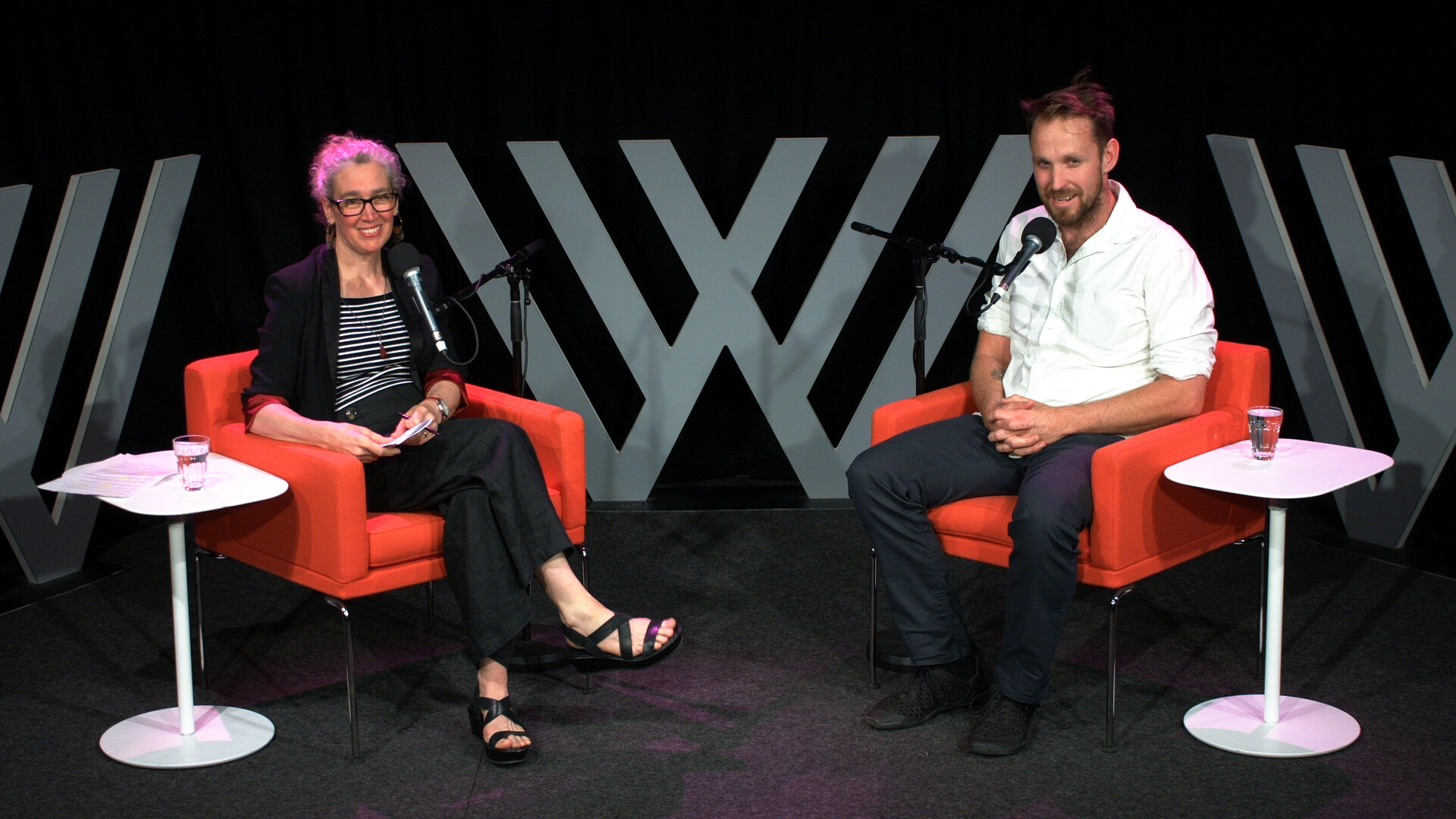 Photograph of Hilary Harper and Paul West