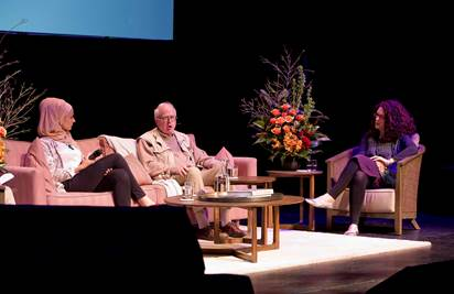 Photo of Susan Carland, William Maley and Rebecca Huntley