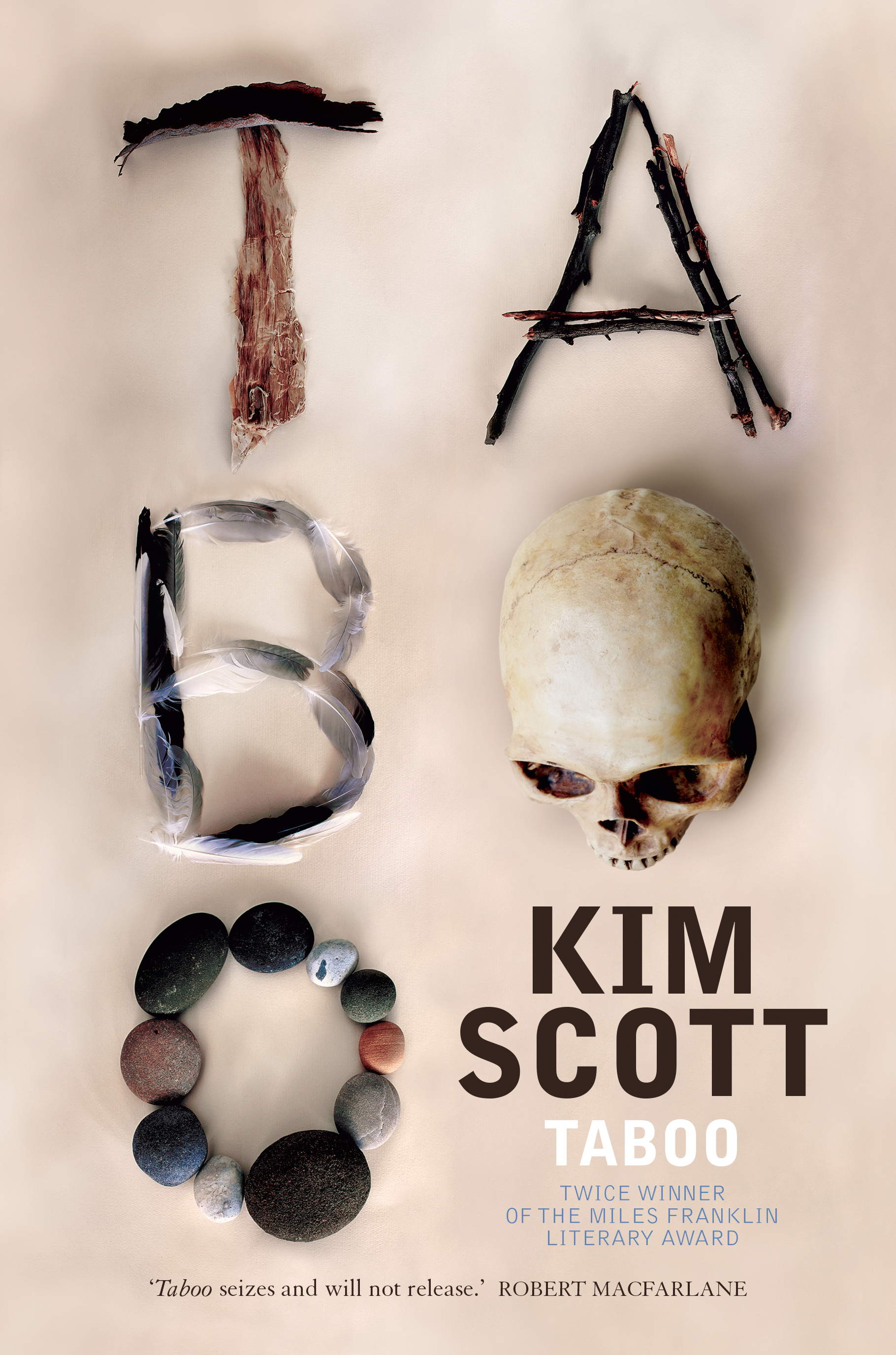 Cover image of the book, 'Taboo', by Kim Scott