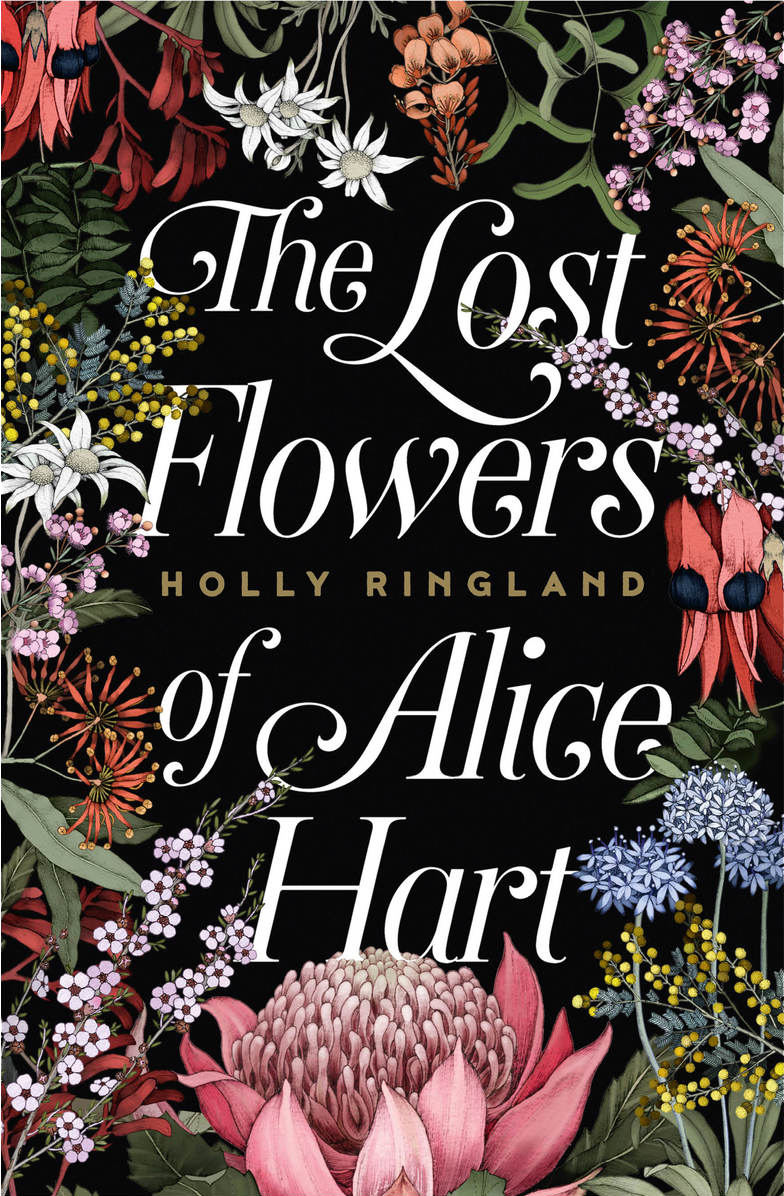 The Lost Flowers of Alice Hart book cover