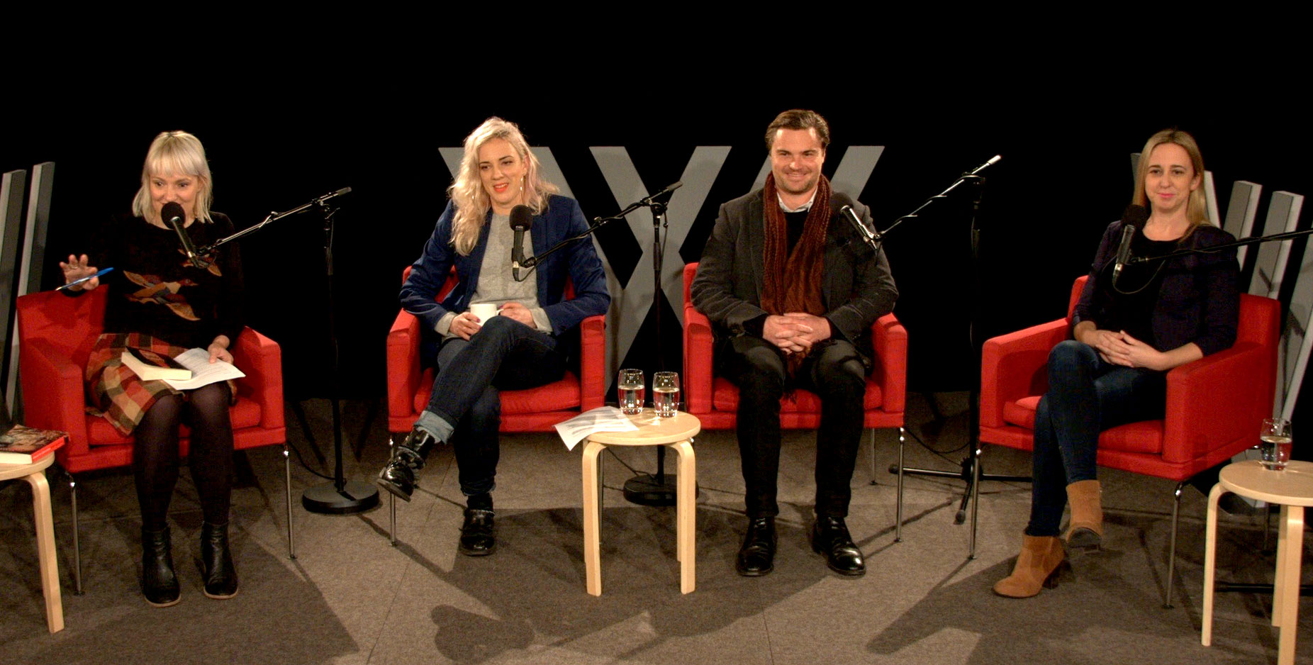 Photo of Jacinta Parsons, Jenny Valentish, Chris Raine and Jill Stark
