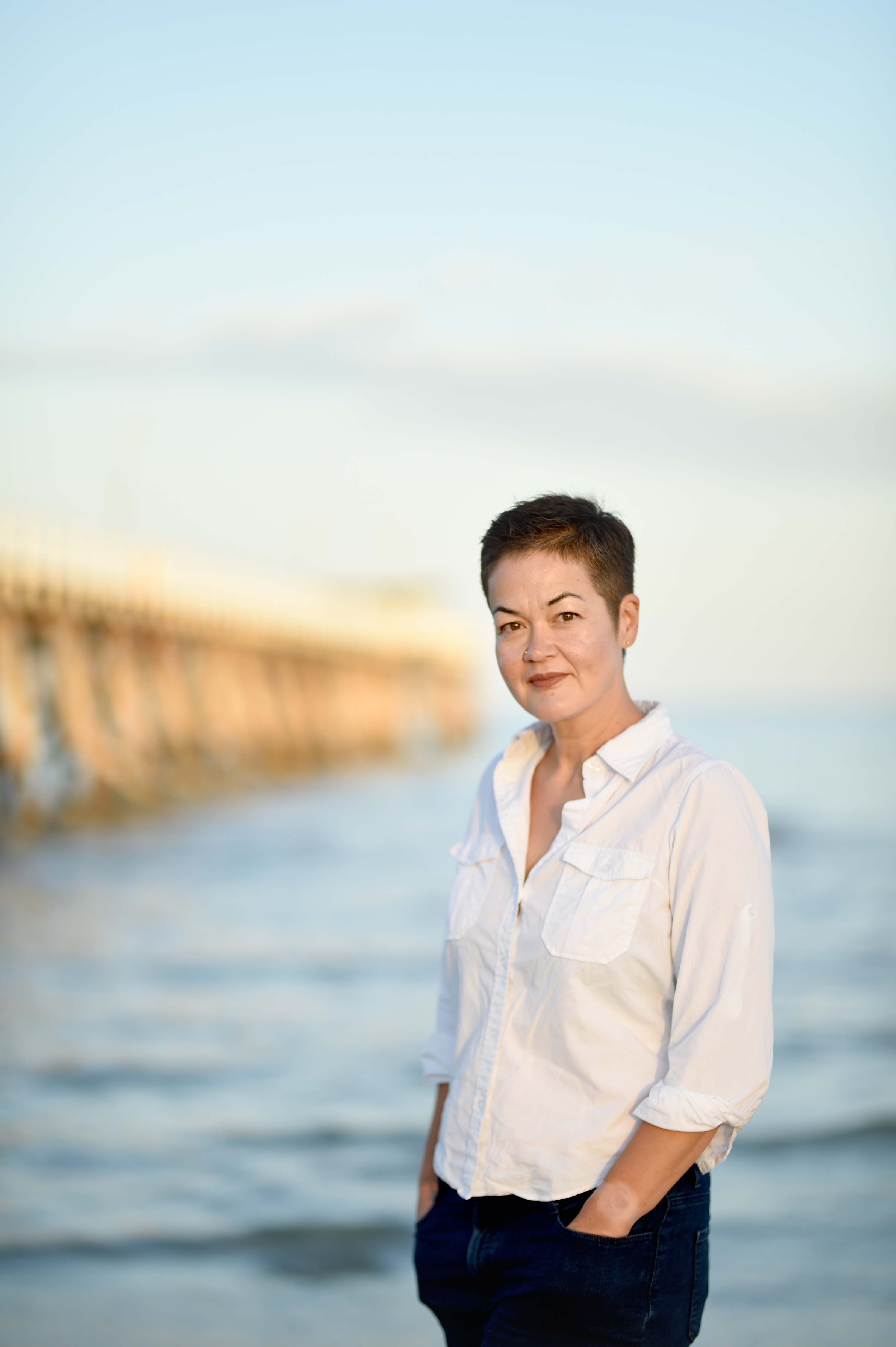 Photograph of author Katherine Tamiko Arguile