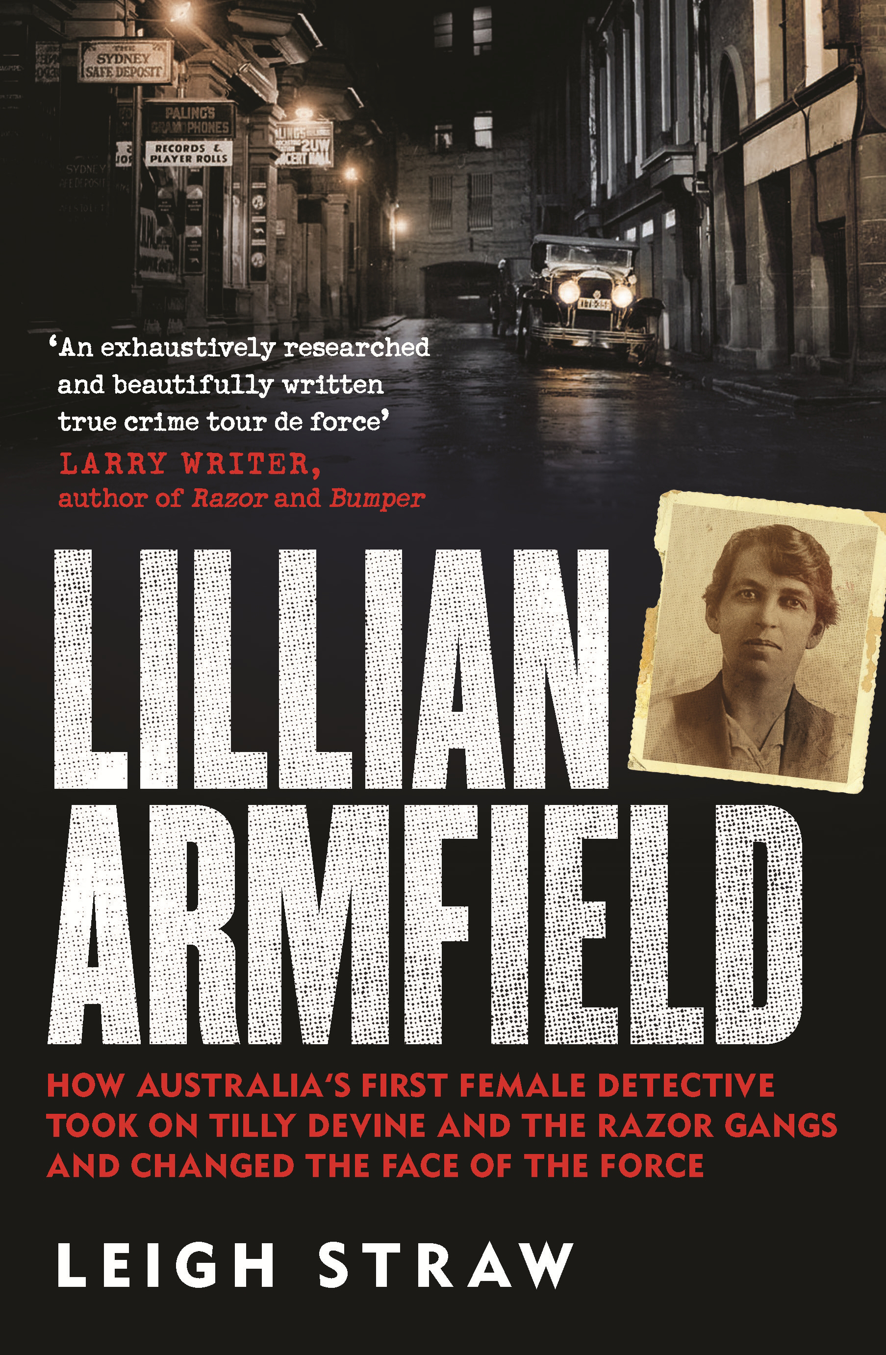 Cover image of 'Lillian Armfield' by Leigh Straw