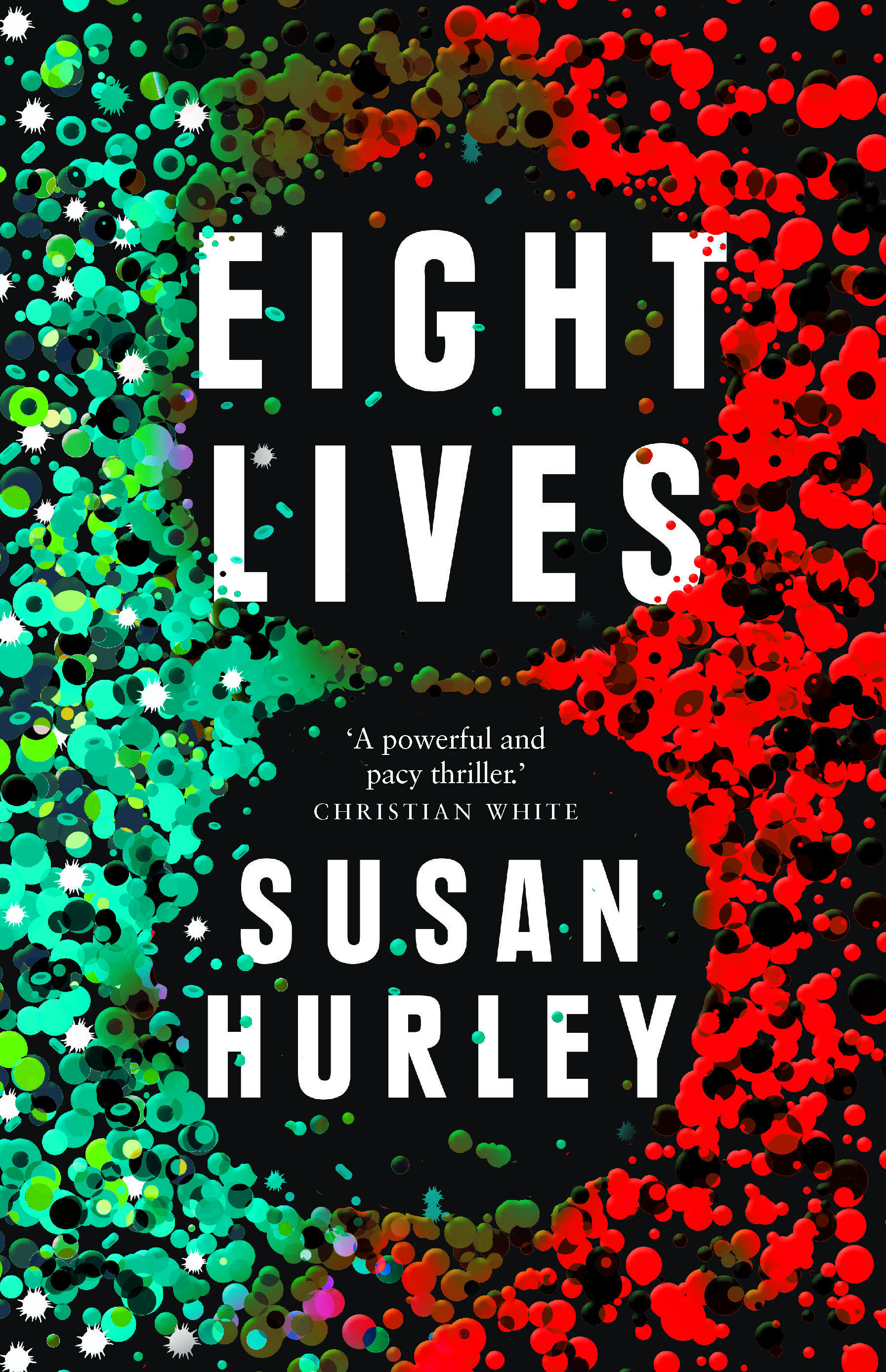 Cover image of 'Eight Lives' by Susan Hurley