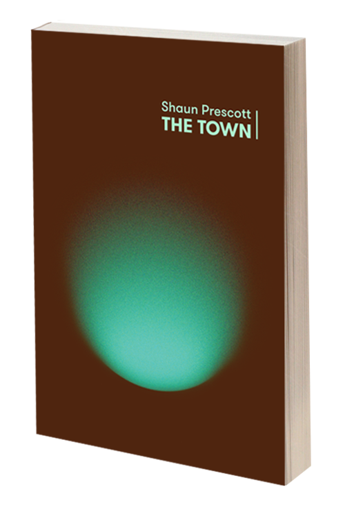 Cover image of the book 'The Town' by Shaun Prescott