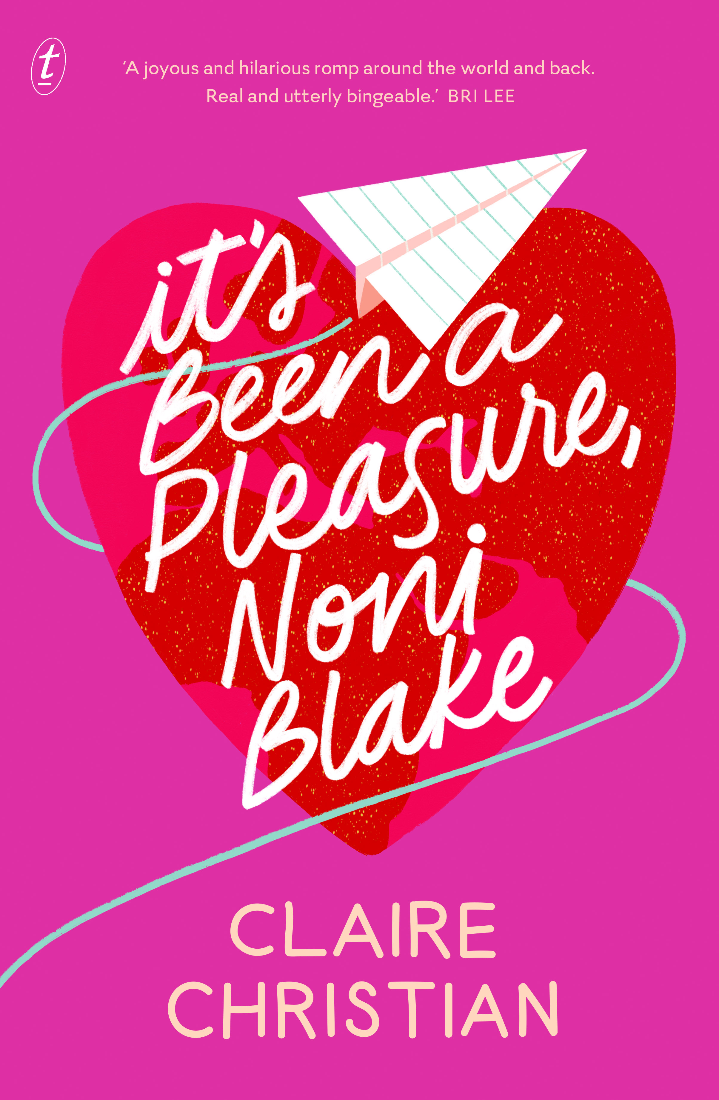 Image of the cover of Claire Christian's book, It's Been a Pleasure, Noni Blake