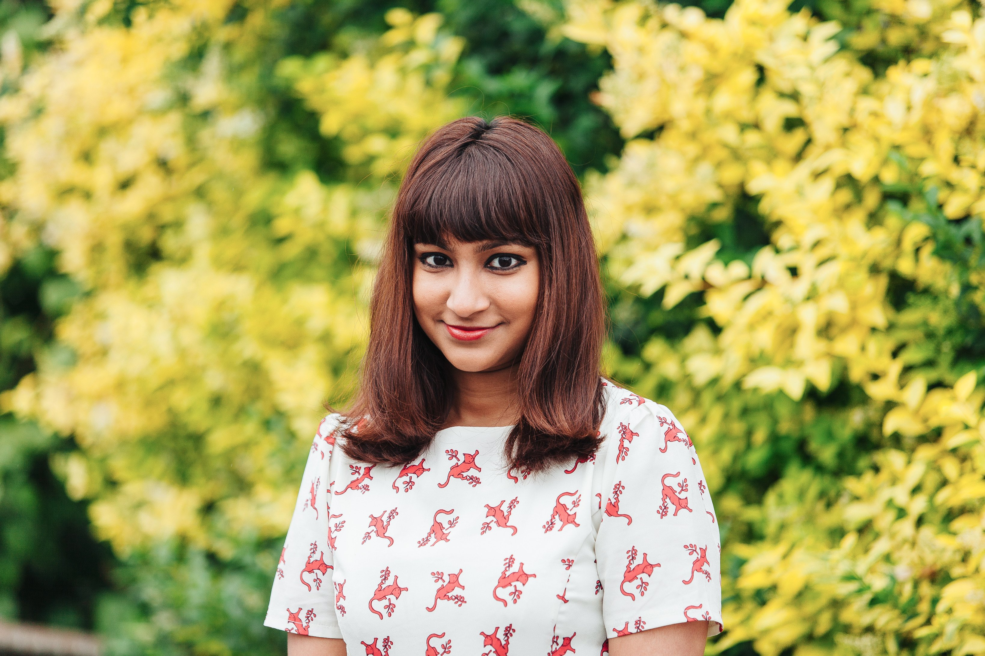 Photograph of Melbourne writer Sonia Nair