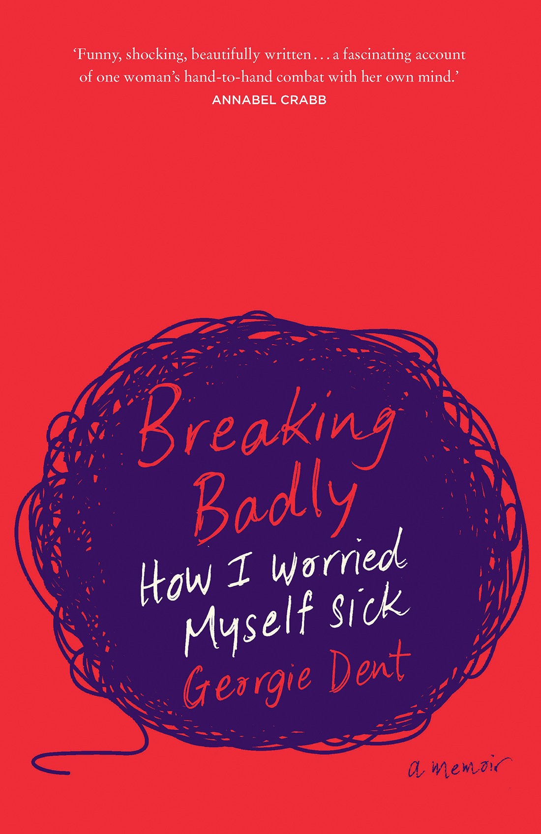 Cover image of 'Breaking Badly' by Georgie Dent