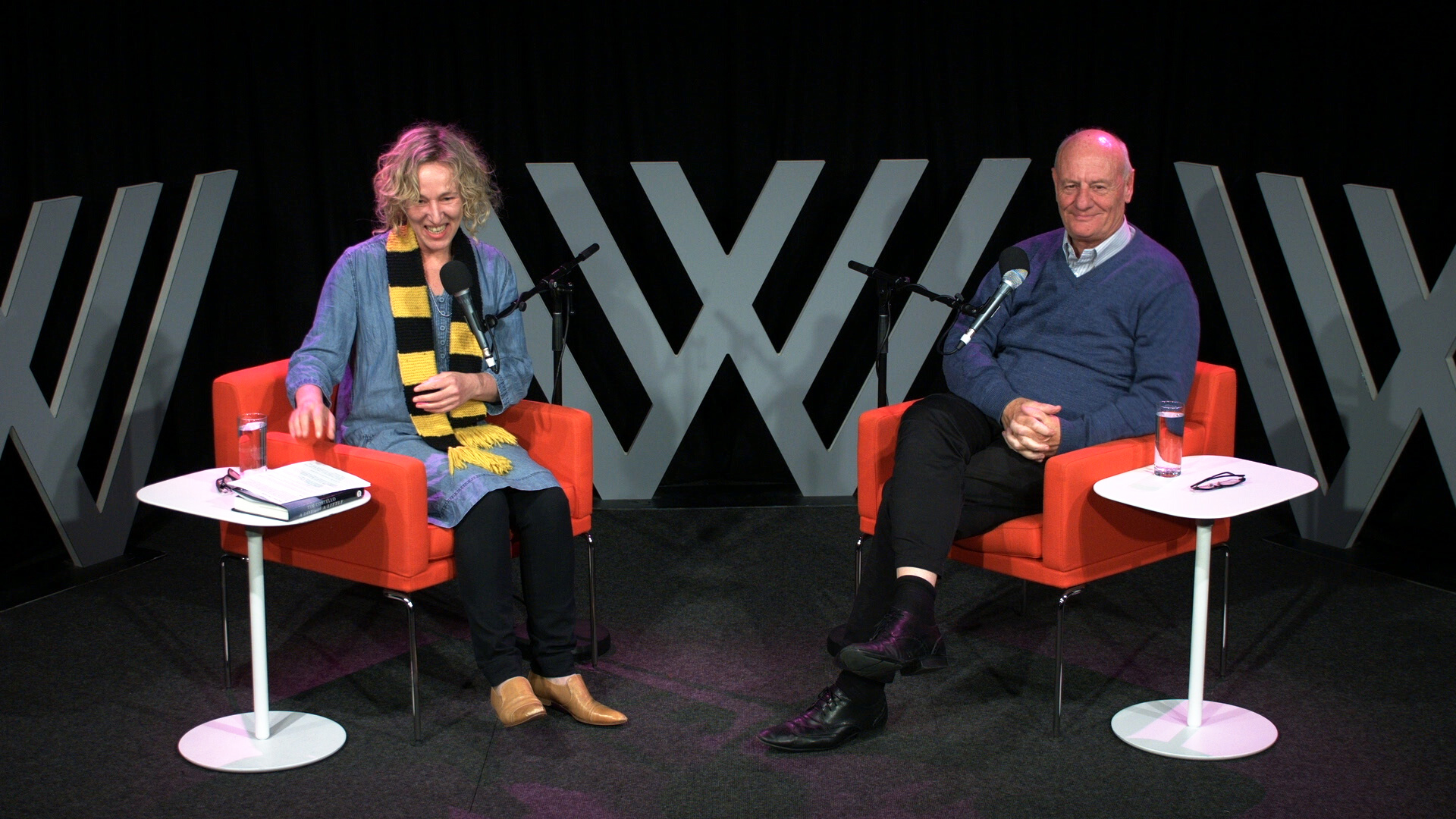 Photo of Sally Warhaft and Tim Costello