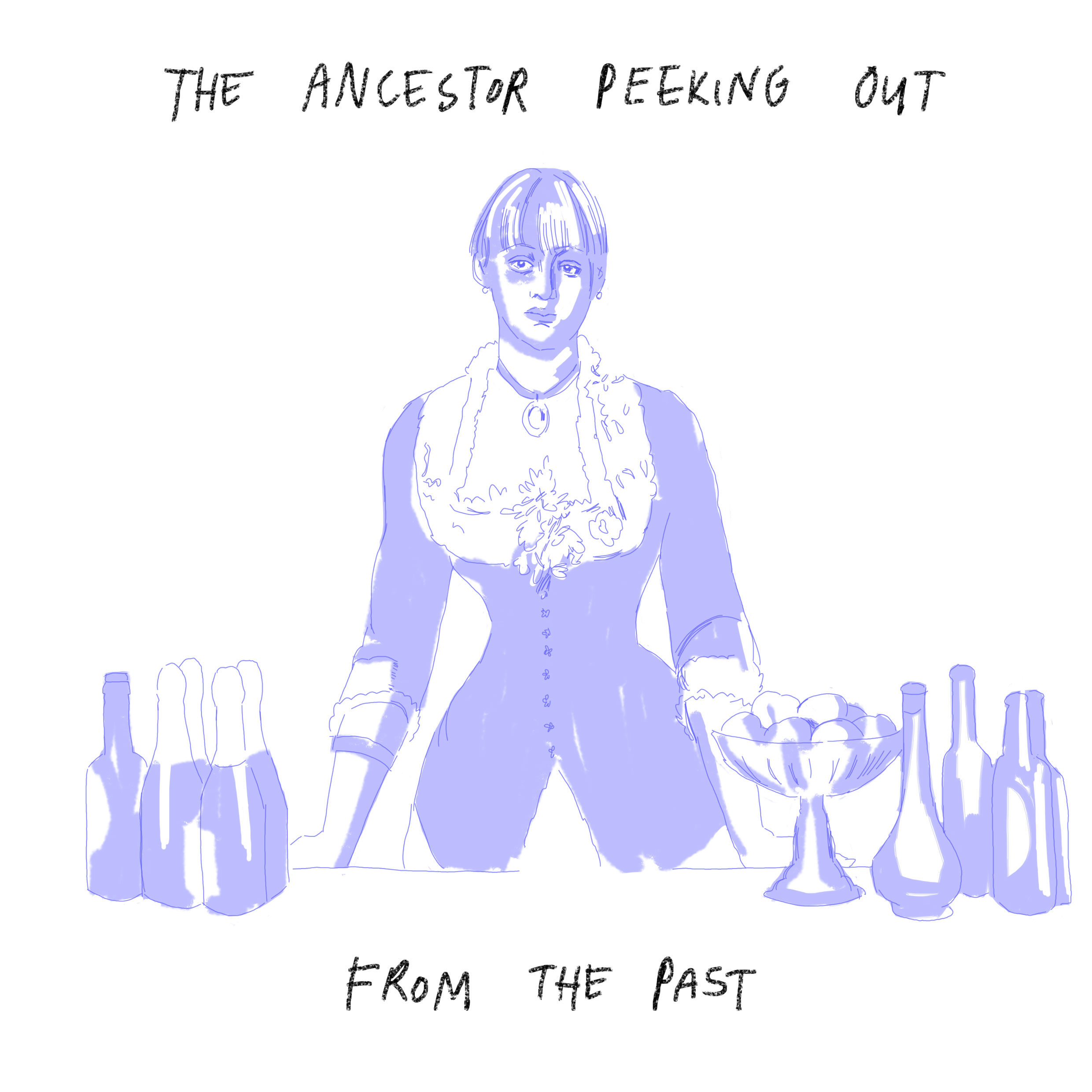'The ancestor peeking out from the past'