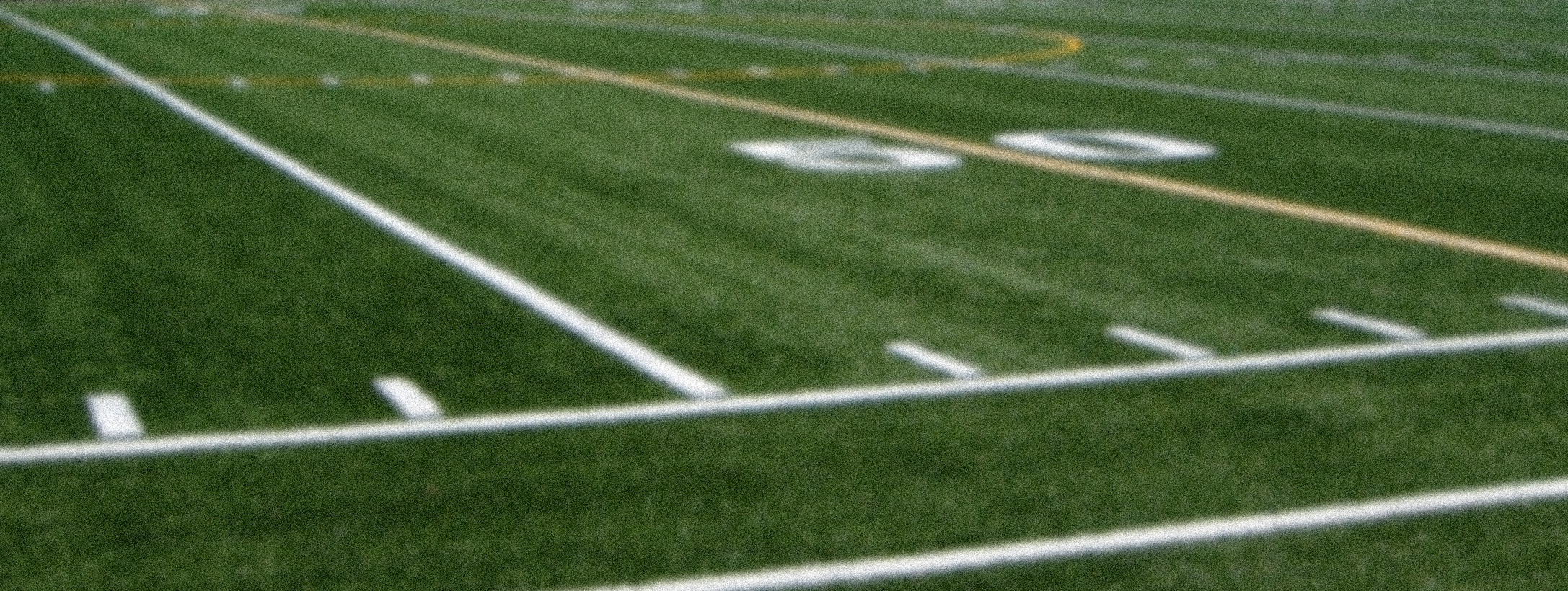 Photograph of an American football field