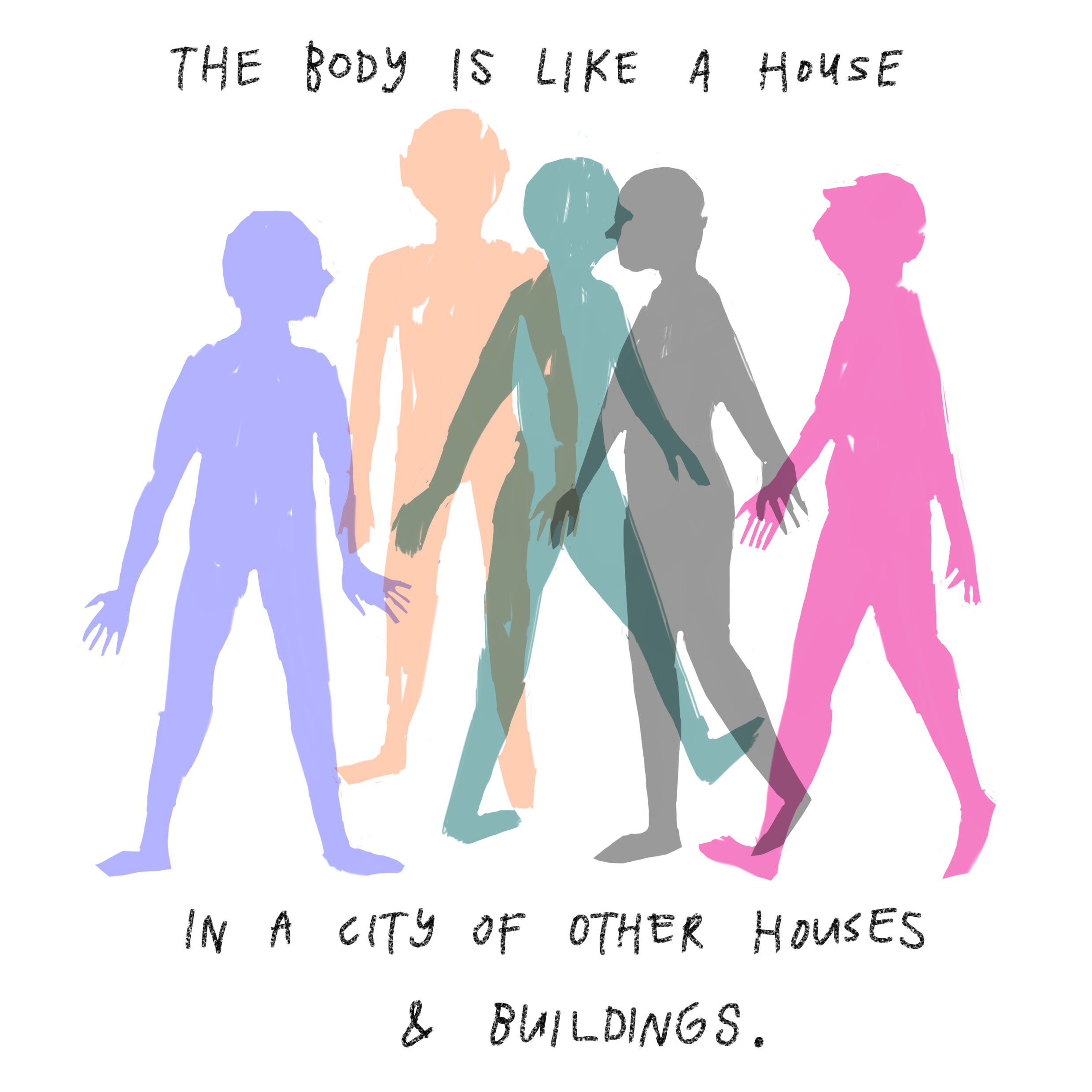 'The body is like a house in a city of other houses and buildings.'