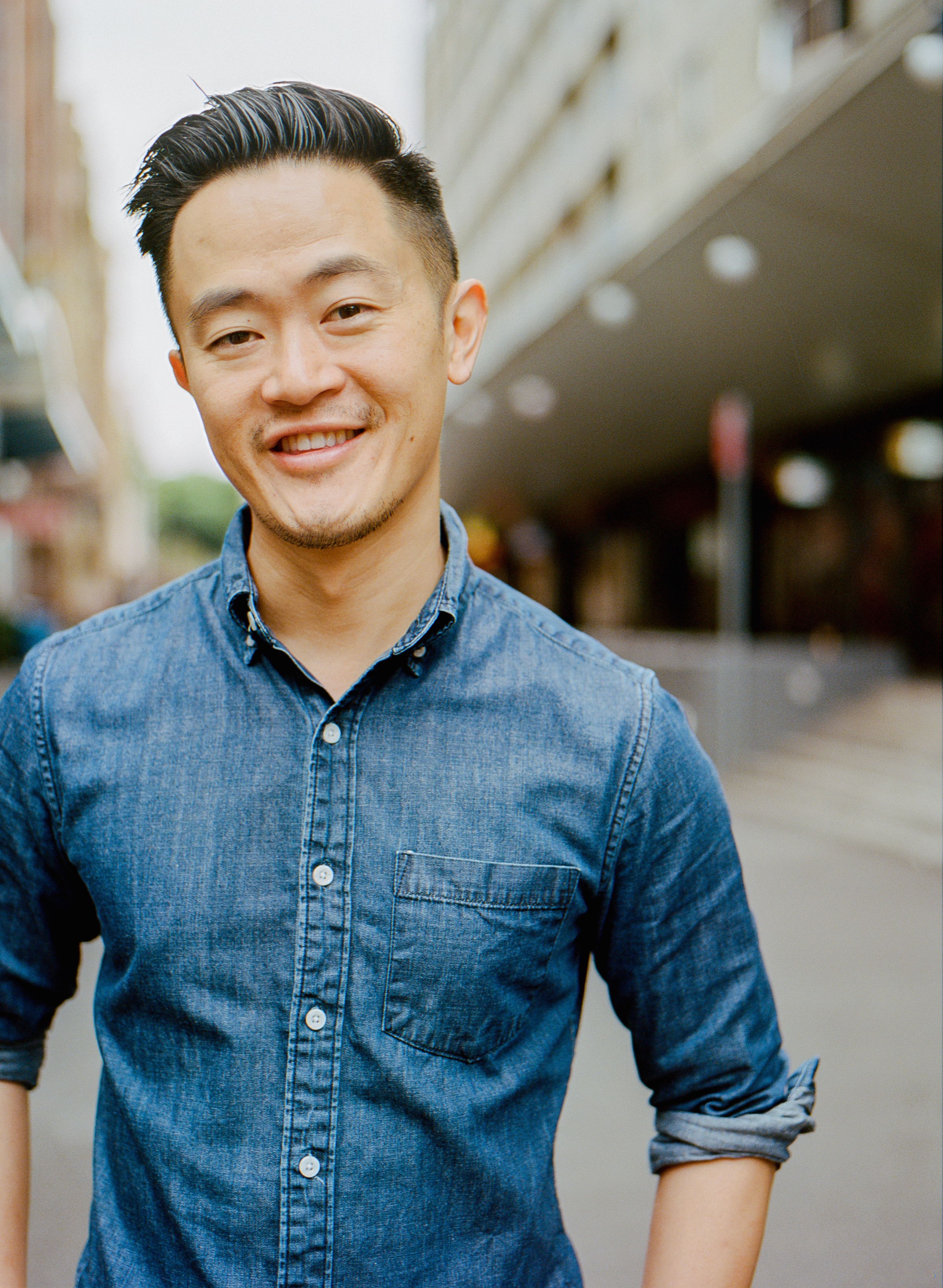 Photograph of Benjamin Law