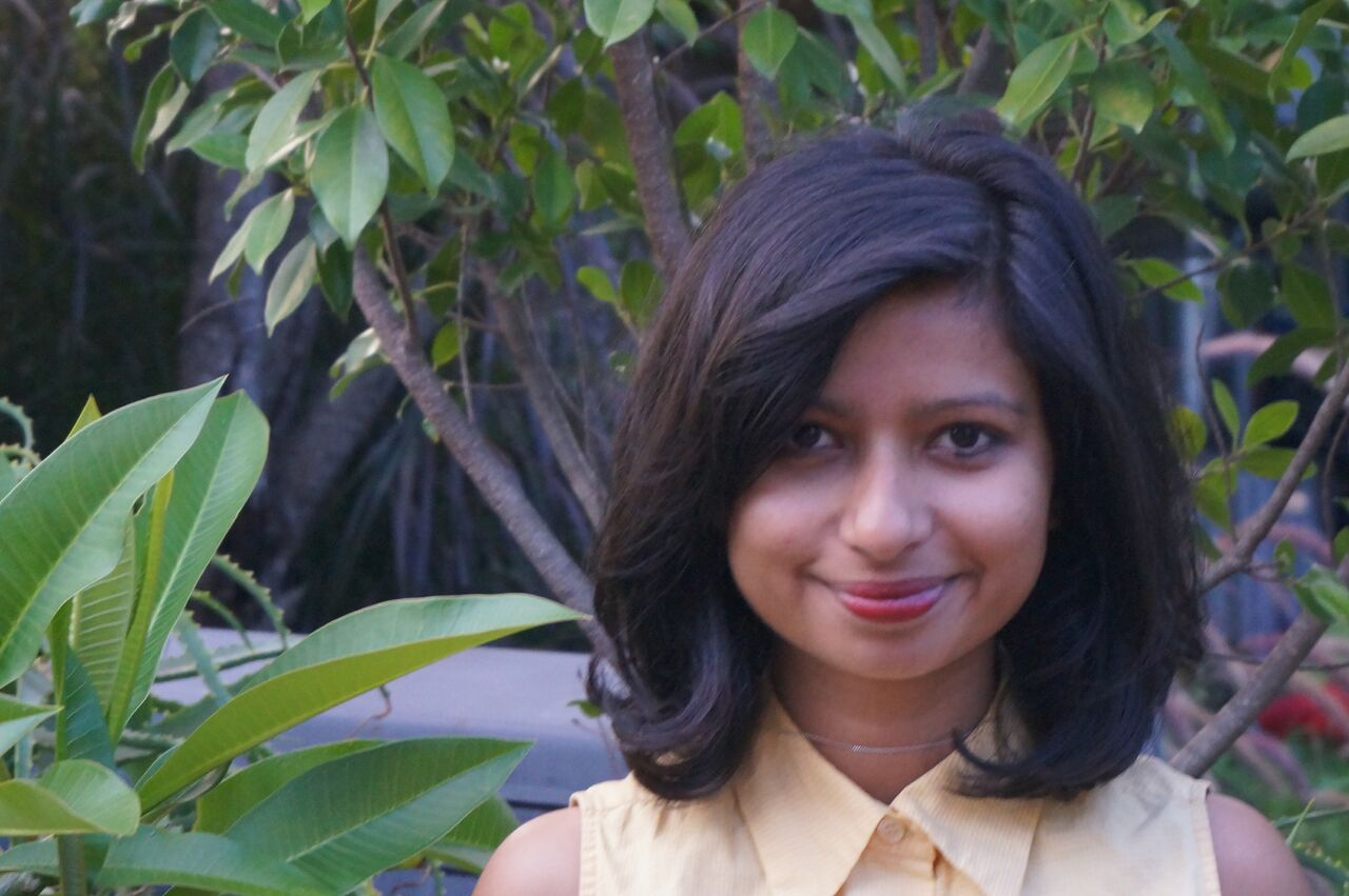 Photograph of writer and editor Neha Kale