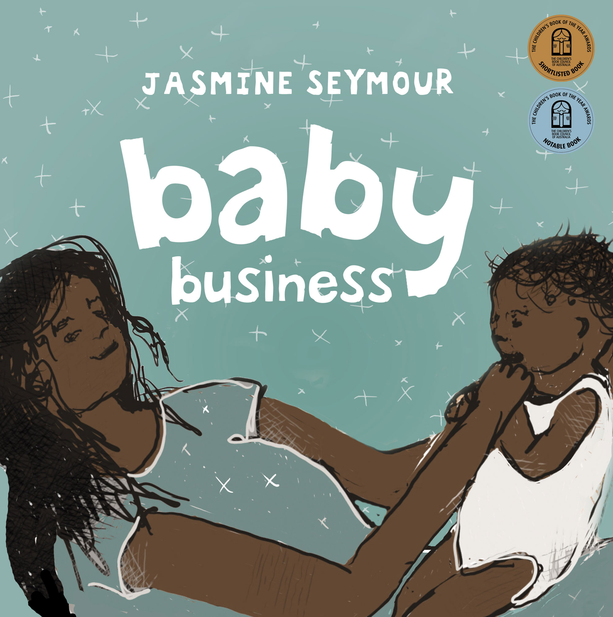Cover image of the book 'Baby Business' by Jasmine Seymour