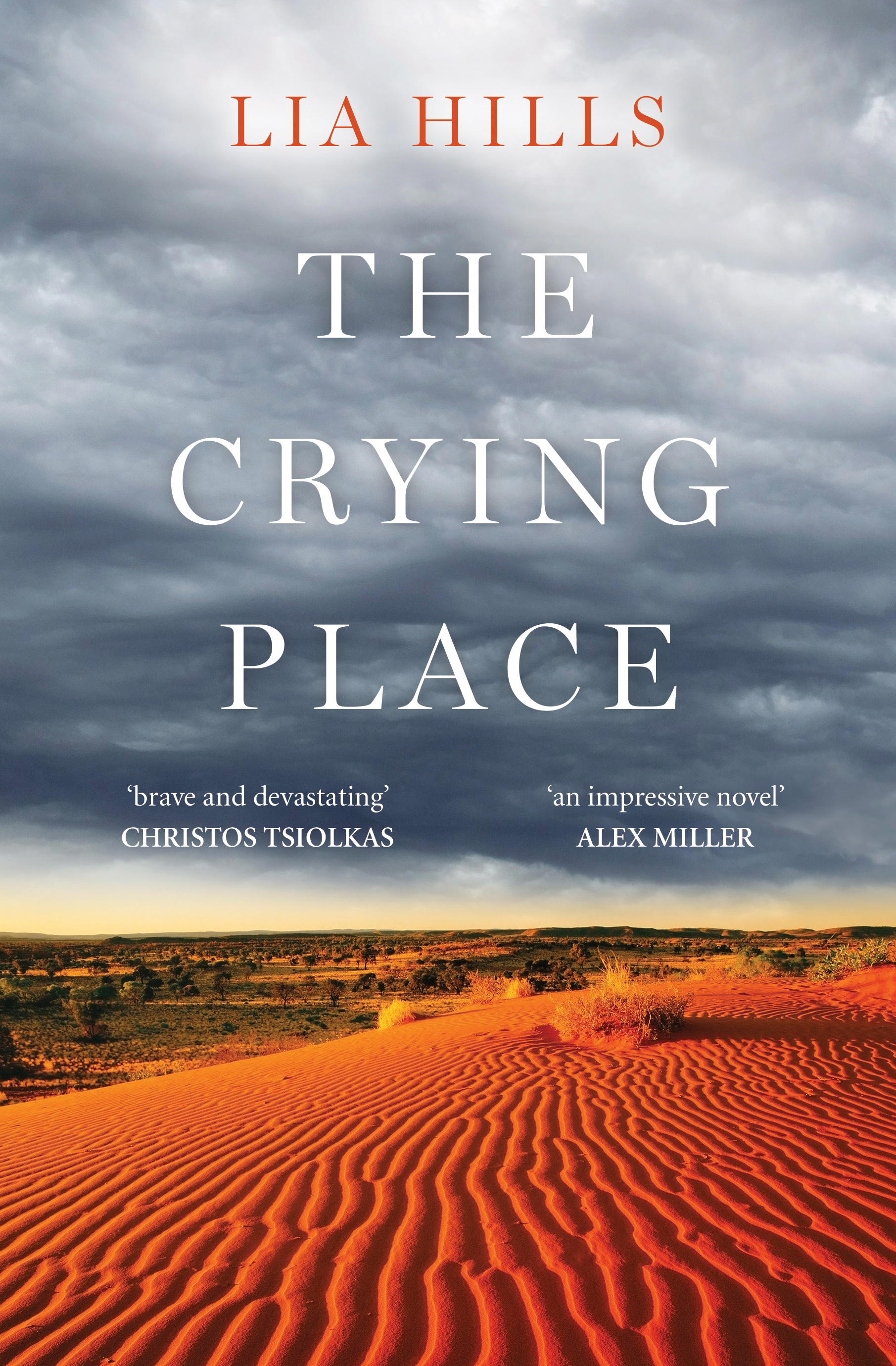 Cover image of the book, 'The Crying Place' by Lia Hills