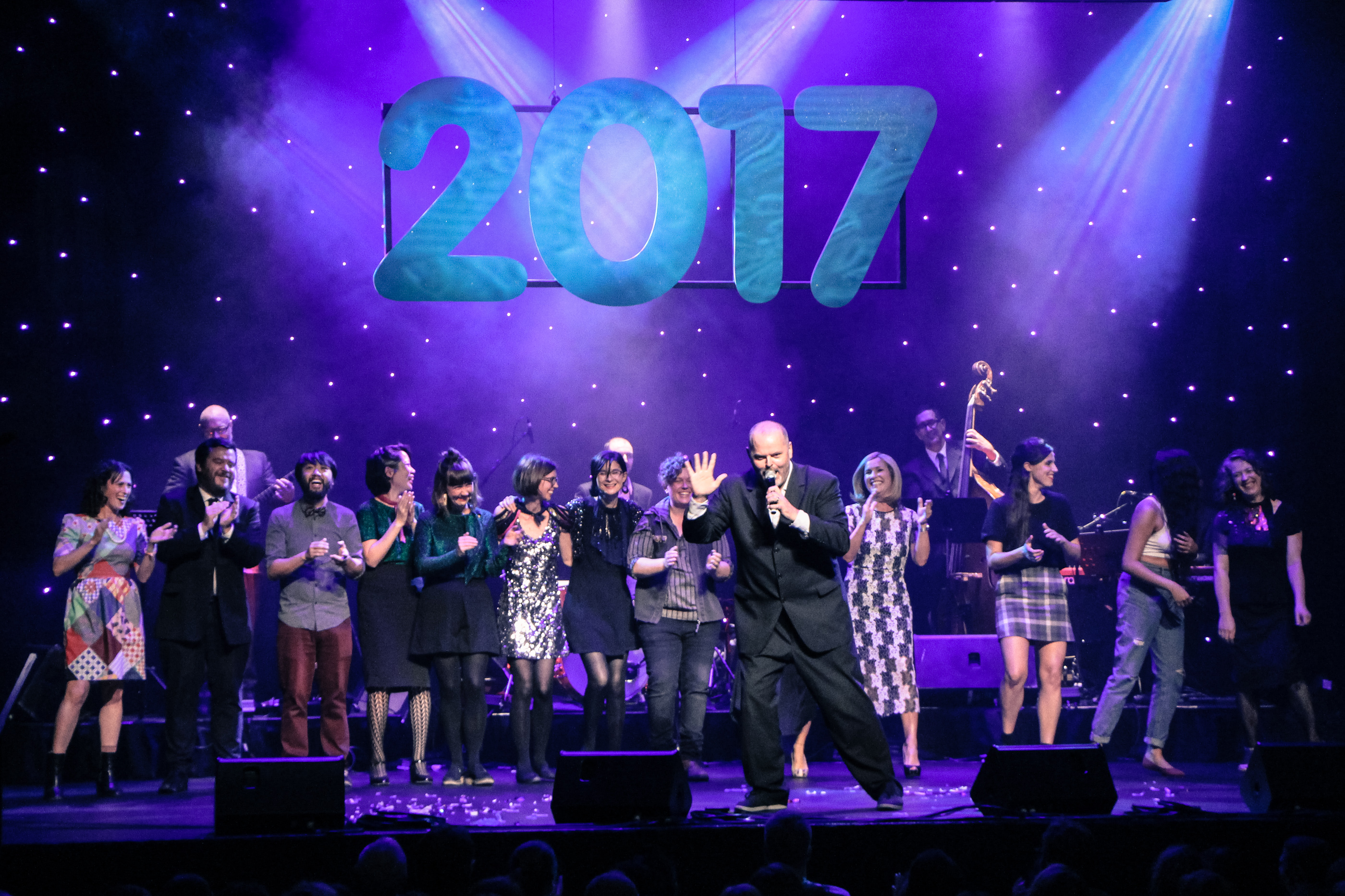 The cast of the 2017 Show of the Year
