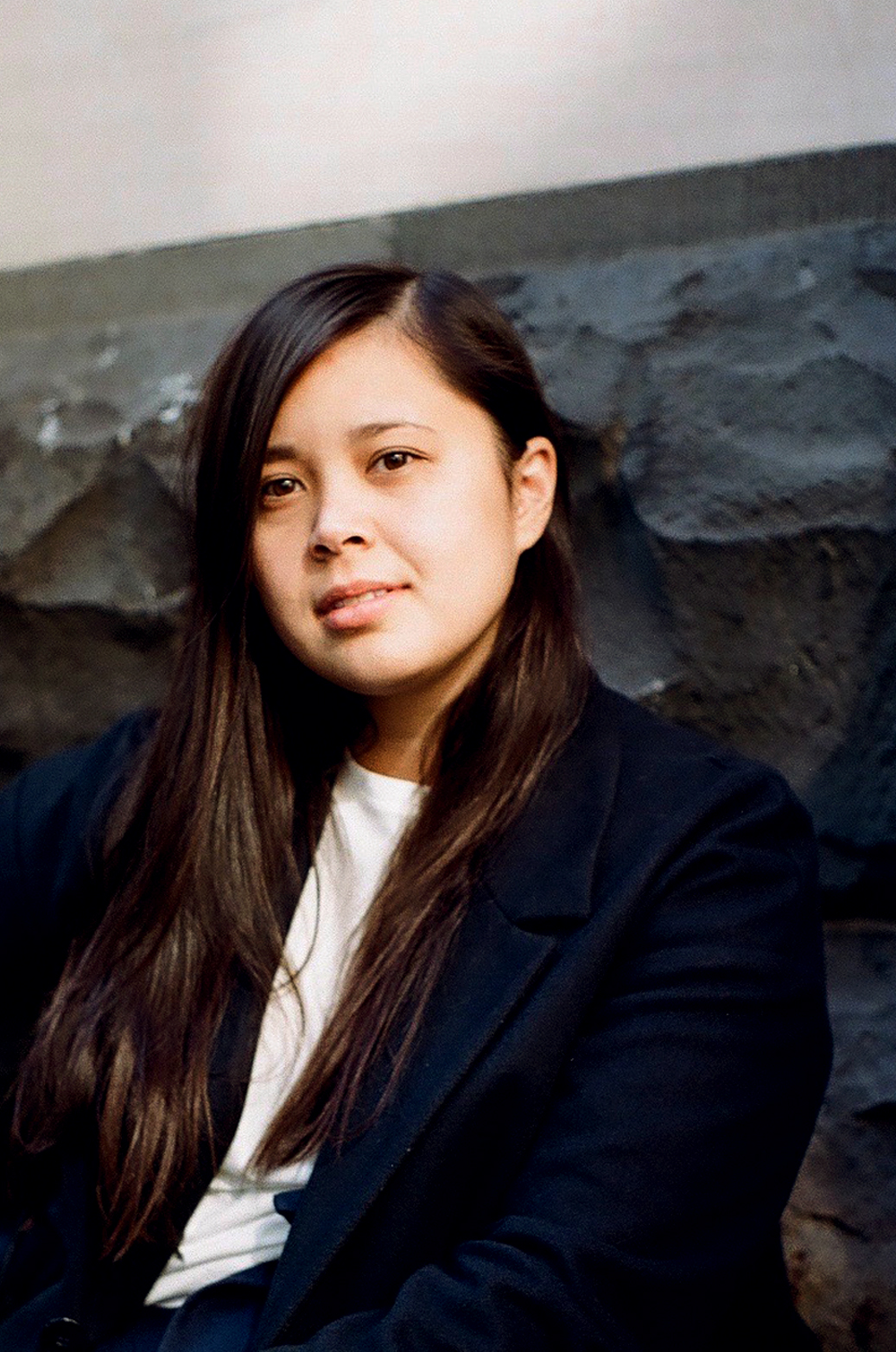 Photograph of writer Leah Jing McIntosh