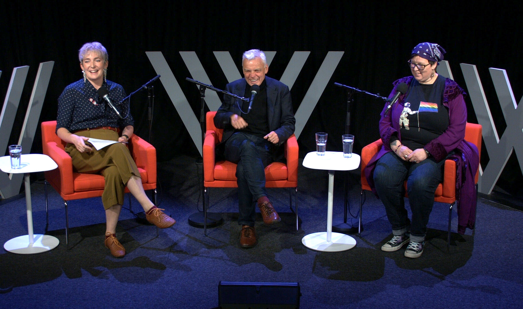 Photo of Clem Bastow, Graeme Simsion and Yenn Purkis