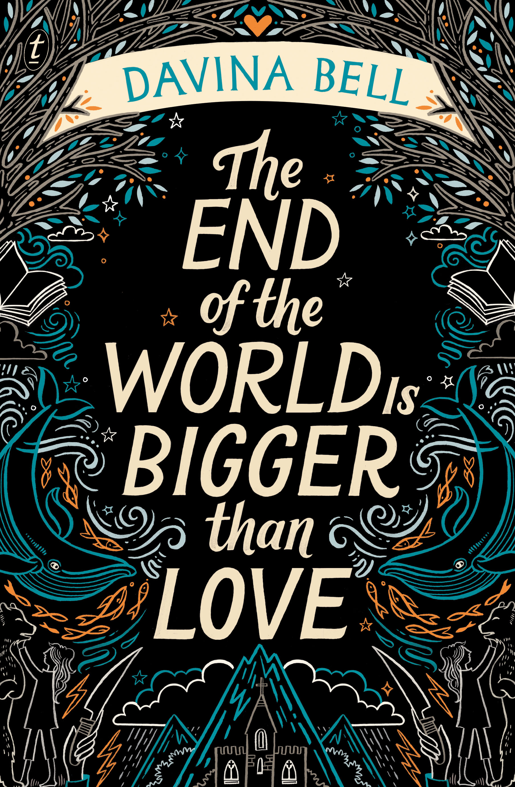 Cover image of 'The End of the World is Bigger Than Love' by Davina Bell