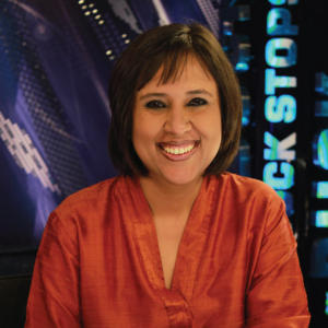 Portrait of Barkha Dutt