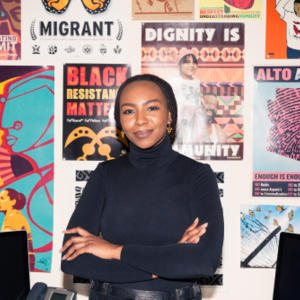 Portrait of Opal Tometi