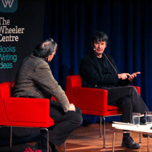 Promo image for Ian Rankin with Shane Maloney