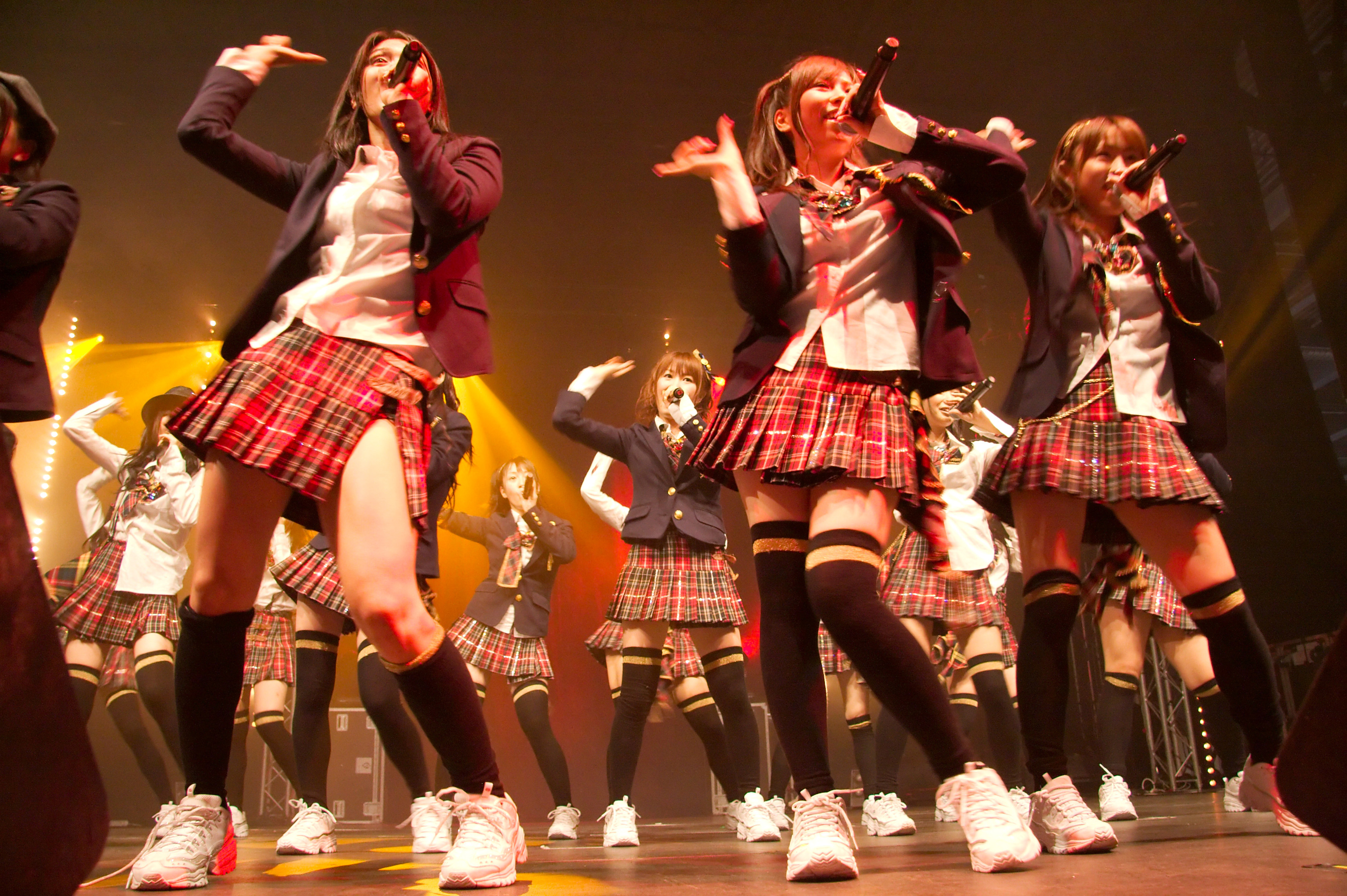 Japanese band AKB48 – co-opted into military recruitment