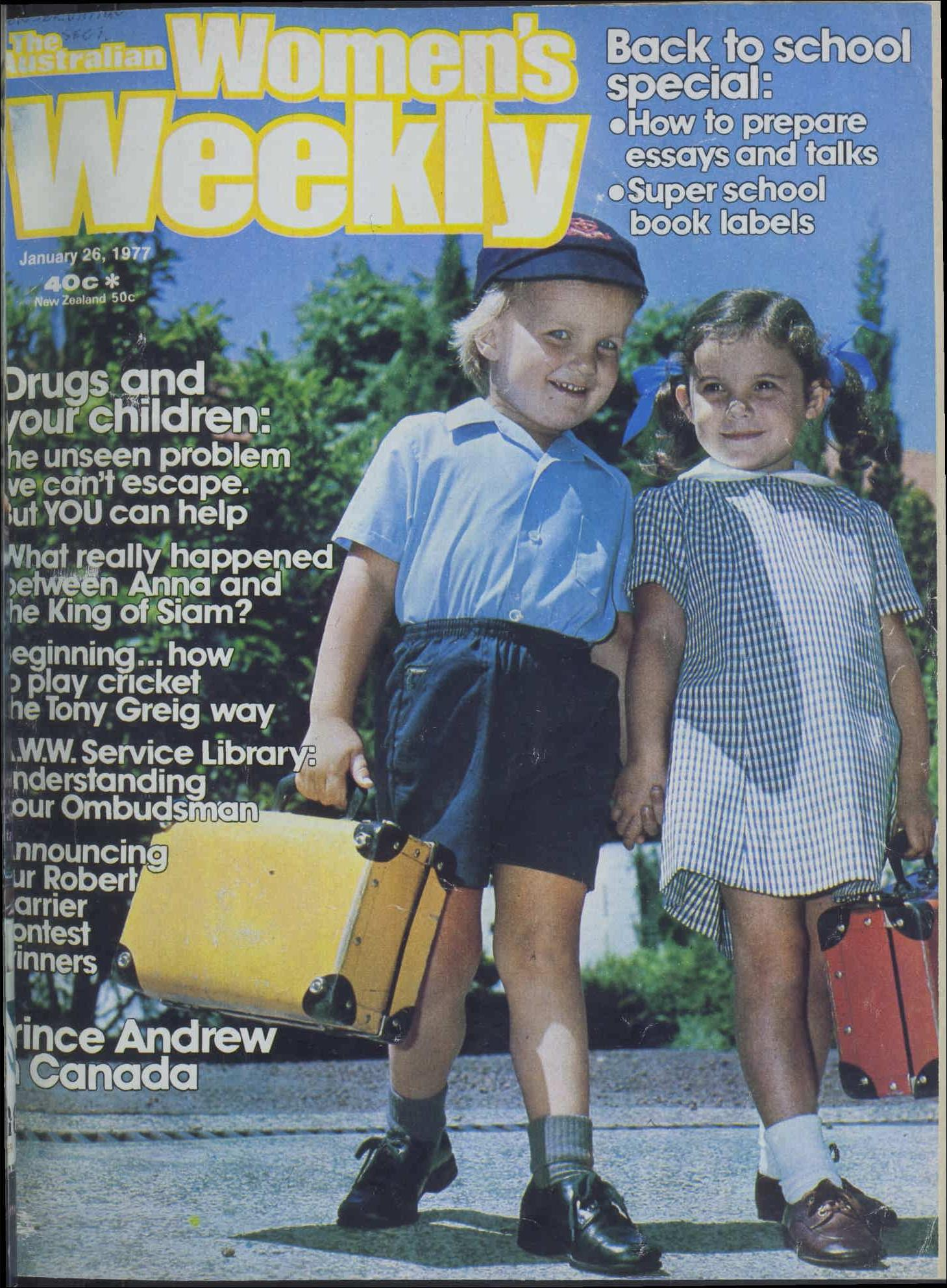 The back to school issue!
