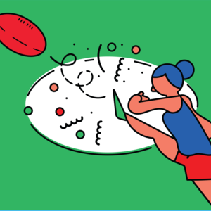 Promo image for A League of One's Own: The AFL, and Women's Sport