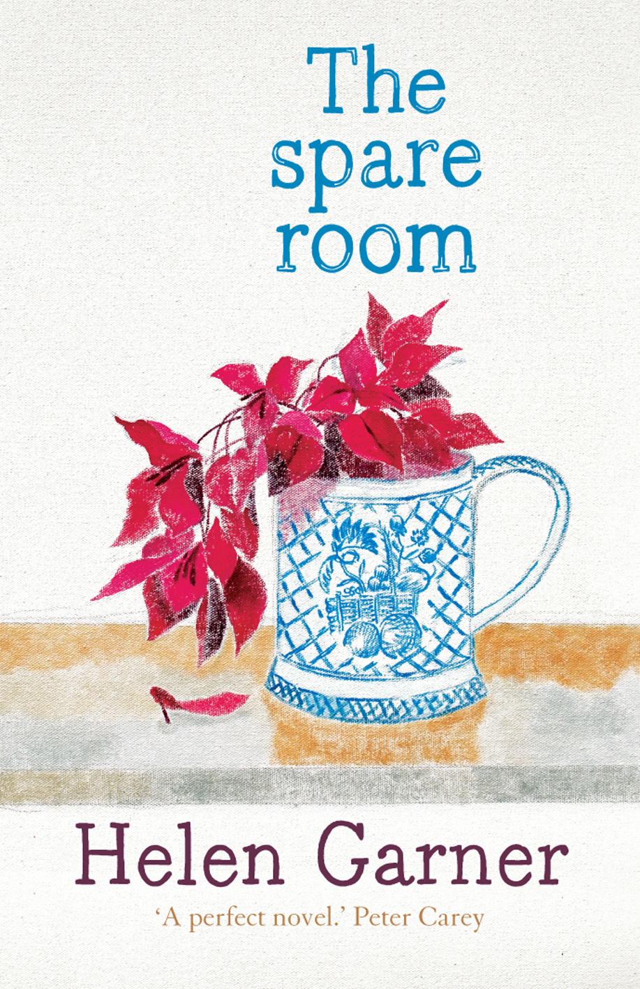 Helen Garner's *The Spare Room* is one of W.H. Chong's favourite covers.