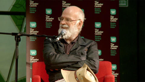 Promo image for Sir Terry Pratchett: 'Imagination, not intelligence, made us human'