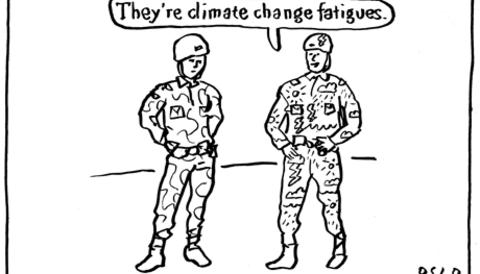 Promo image for Climate fatigues, by Oslo Davis