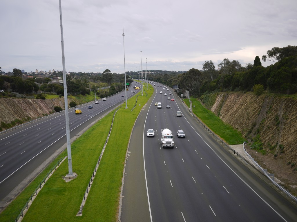 Eastern Freeway; Melbourne, Australia