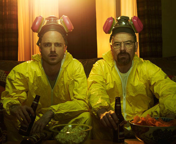 *Breaking Bad*: among 'the kinds of HBO drama series that we adults are eating up like addicts getting our fix of sophisticated candy'.