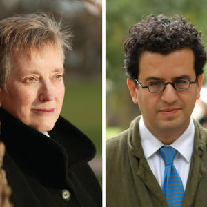 Promo image for Stella Rimington and Hisham Matar