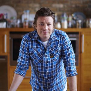 Portrait of Jamie Oliver
